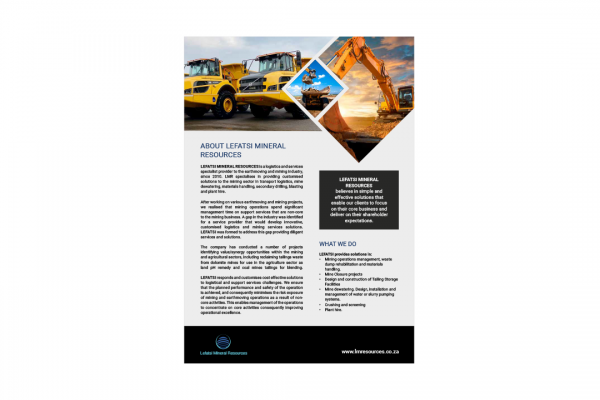 Lefatsi Mineral Resources